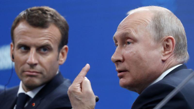 Макрон в пятницу поговорит с президентом России о Сенцове – Reuters