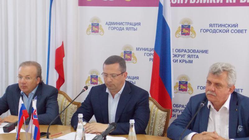 МИД Украины: словацкий парламентарий Марчек предупрежден о последствиях поездки в Крым