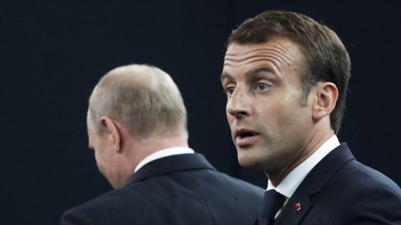 Стало известно, что Макрон сказал Путину о Сенцове
