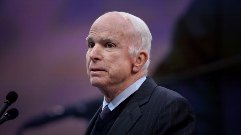 Американский сенатор Джон Маккейн решил прекратить лечение от рака мозга