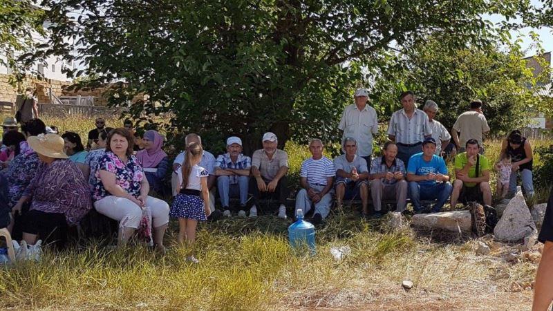 Жители «поляны протеста» в Симферополе намерены дойти до Европейского суда по правам человека – активист