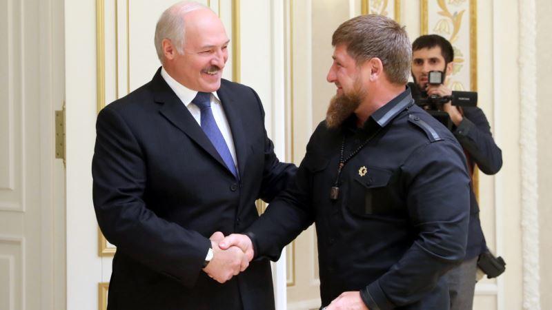 Лукашенко наградил Кадырова орденом «Дружбы народов»