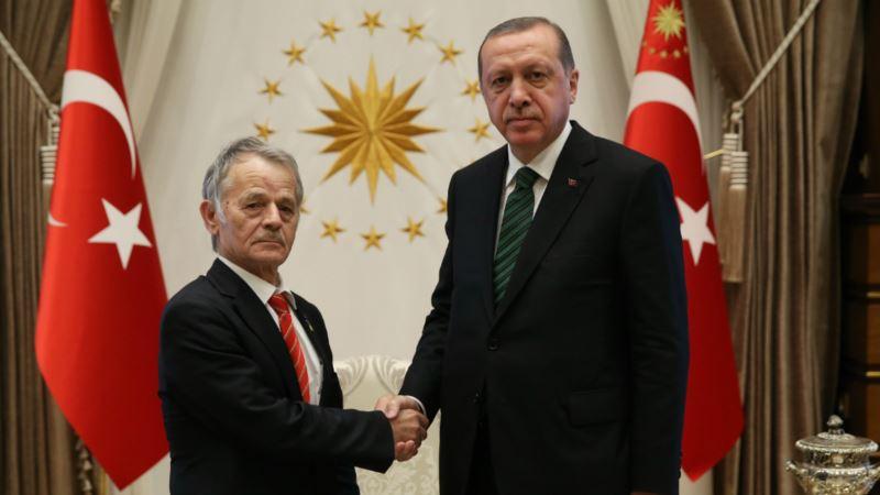 Эрдоган попросил у Мустафы Джемилева список узников Кремля