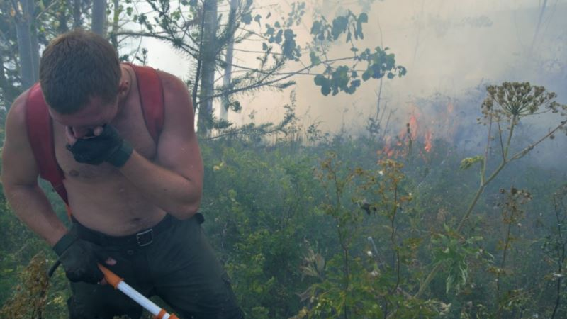 Россия: в Якутии горит 700 тысяч гектаров леса