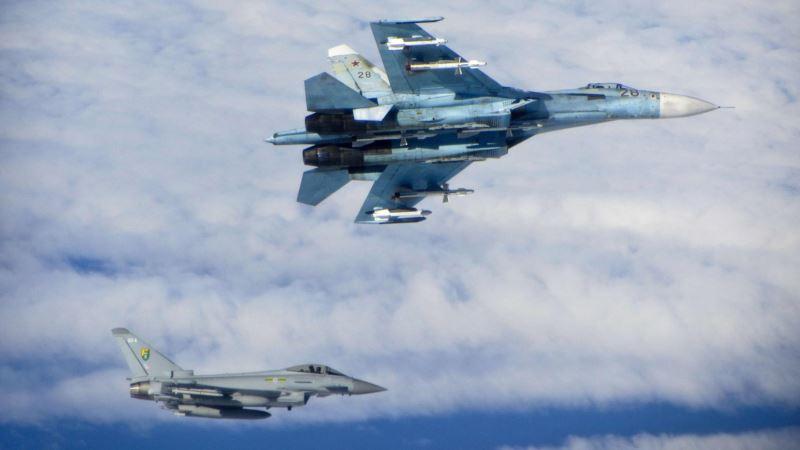 Британские истребители перехватили над Черным морем российский военный самолет