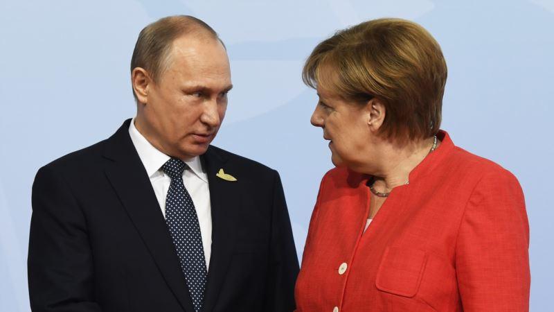 Путин и Меркель на встрече будут говорить об Украине – Песков
