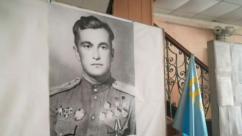 В Геническе прошли соревнования по шахматам памяти крымскотатарского летчика Амет-Хана Султана