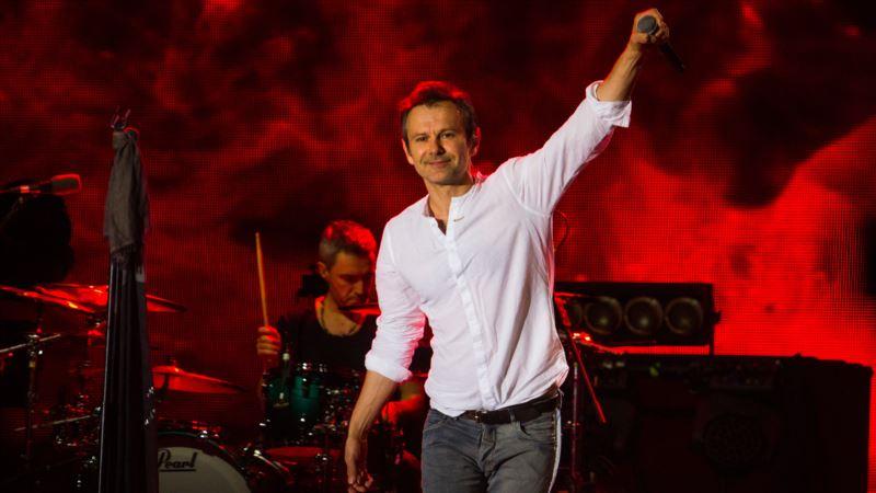 Вакарчук на концерте призвал освободить заключенных в России украинских политузников (+видео)