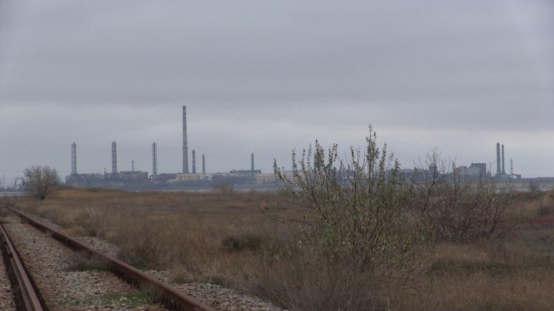 «Ситуация выходит за пределы нормы». Аксенов прокомментировал выброс в Армянске