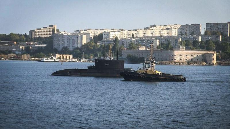 В Севастополе перекрывали движение пассажирских катеров из-за выхода подводной лодки