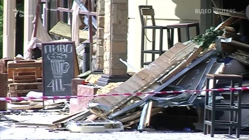 Разрушенный «Сепар»: видео с места убийства главы «ДНР» Захарченко (видео)