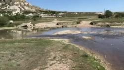 В Крыму сократились запасы пресной воды – правозащитник