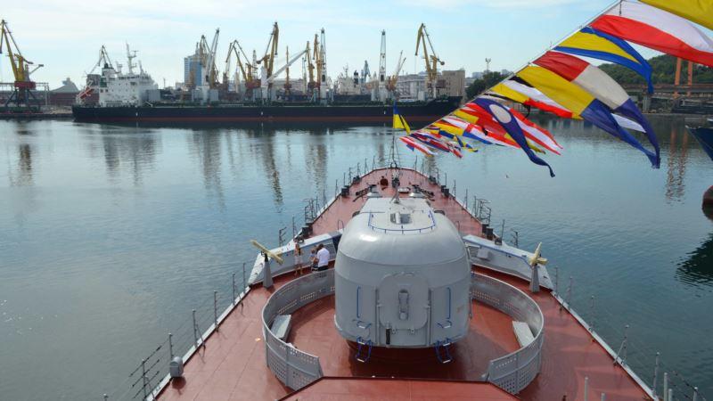 Корабли ВМС Украины заходят в Азовское море в сопровождении воздушной разведки США – СМИ