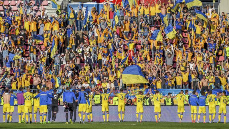 Сборная Украины по футболу победила Чехию в первом матче Лиги наций