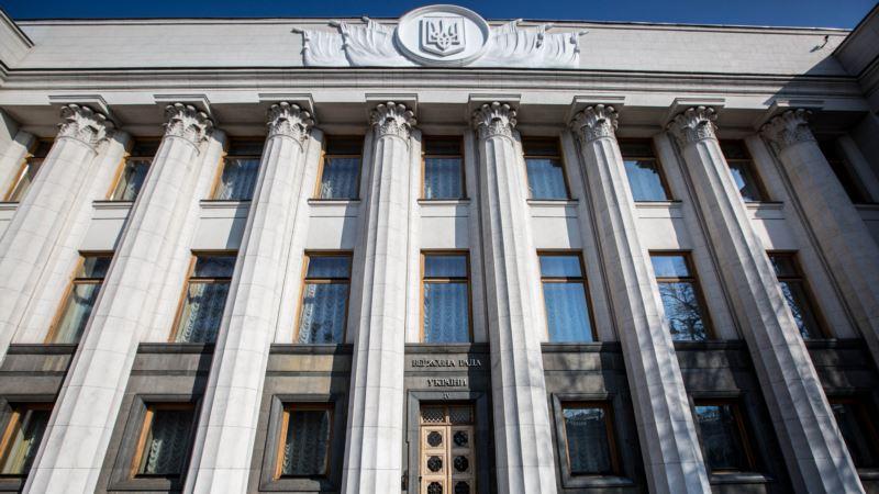 Киев: Рада приняла закон об обеспечении жильем военных, прибывших из Донбасса и Крыма