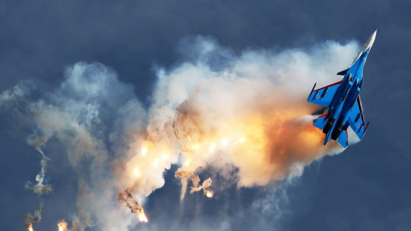 В Крыму прошли российские учения по выводу авиации из-под удара условного противника