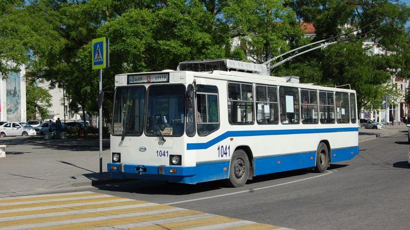 В Севастополе меняют схему движения троллейбусов