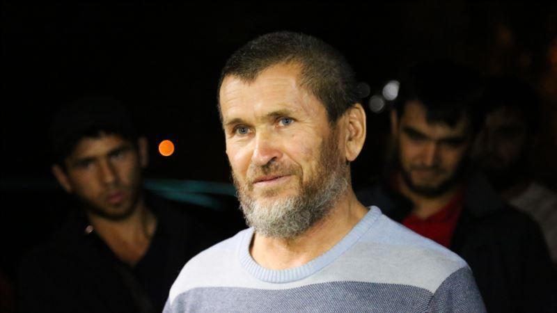 В Симферополе вышел на свободу житель Старого Крыма Куламетов после десяти суток ареста