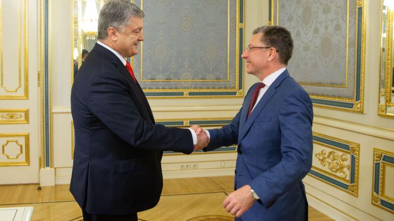 Волкер рассказал Порошенко о новых санкциях США против России