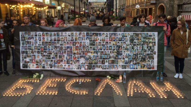 В России вспоминают жертв теракта в Беслане