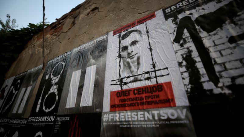 Конференция ОБСЕ в Варшаве началась с акции в поддержку  Сенцова