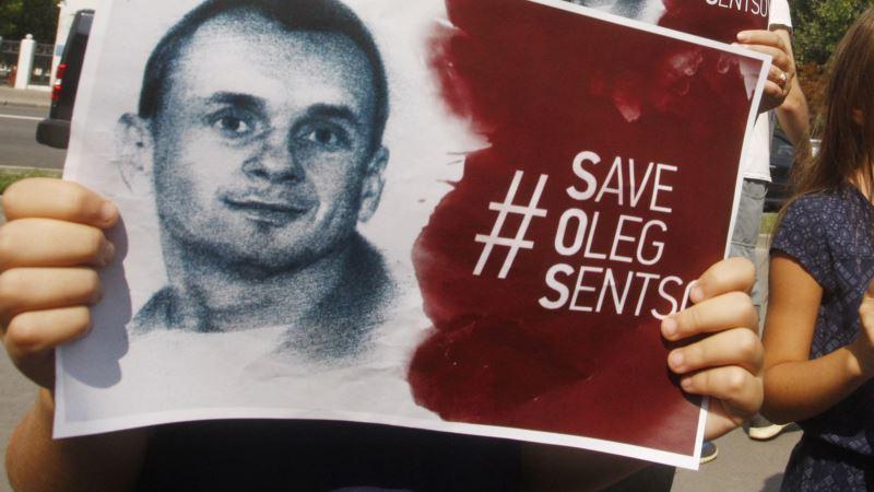 В Москве проходят одиночные пикеты в поддержку Олега Сенцова