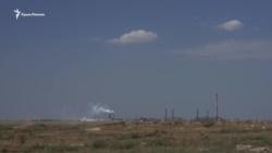 На севере Крыма проверяют воздух на кислотность после выброса в Армянске