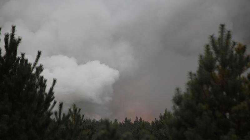 Пожар на территории арсенала под Ичней полностью ликвидировали – Минобороны