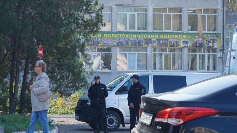 Нападение в Керчи: студентку направили на психиатрическое лечение из-за стресса