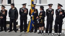 Открытие бюста Амет-Хану Султану в Алупке: школьники устроили выступления с оружием
