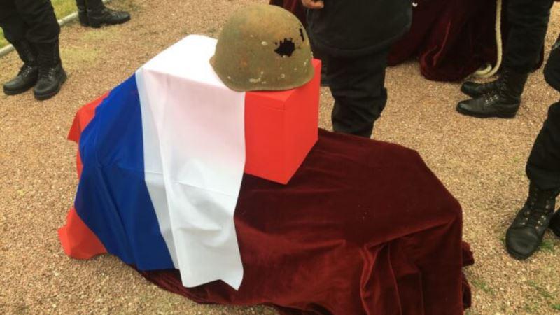 Останки семерых советских воинов перезахоронили под Севастополем