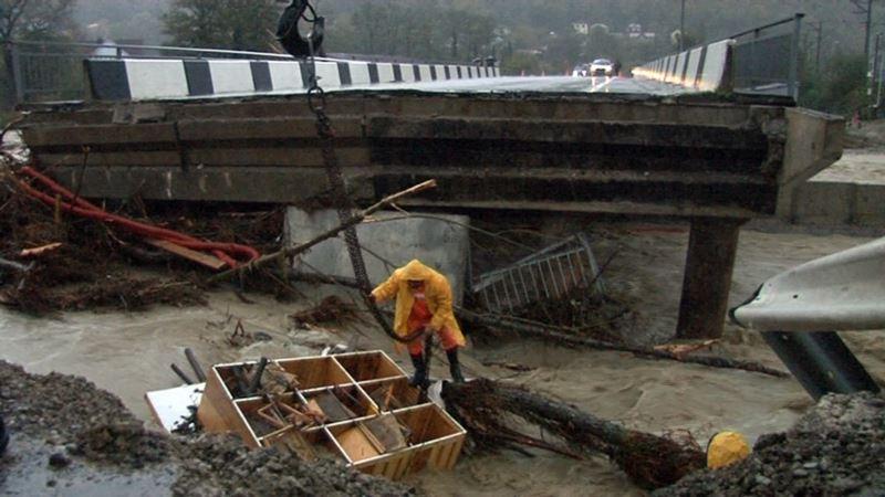 Россия: в Краснодарском крае ввели режим чрезвычайной ситуации из-за наводнения
