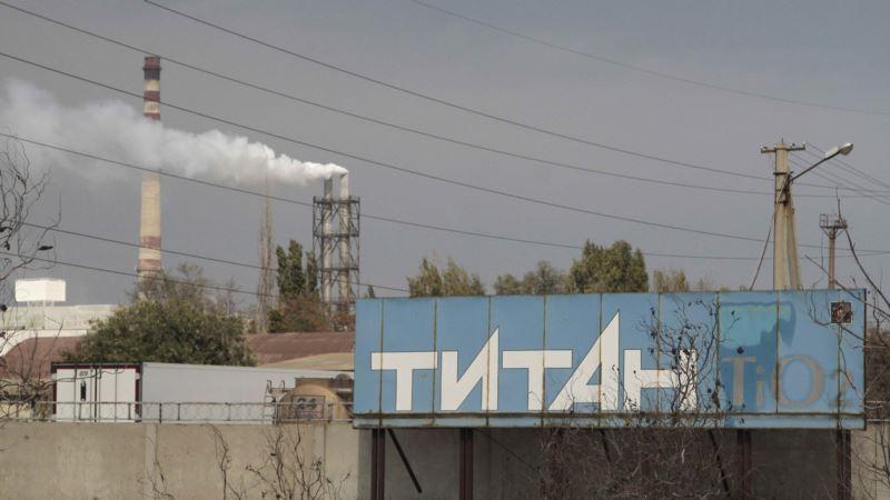 В кислотонакопитель «Крымского титана» сбросили 2 млн кубометров воды – заместитель Аксенова
