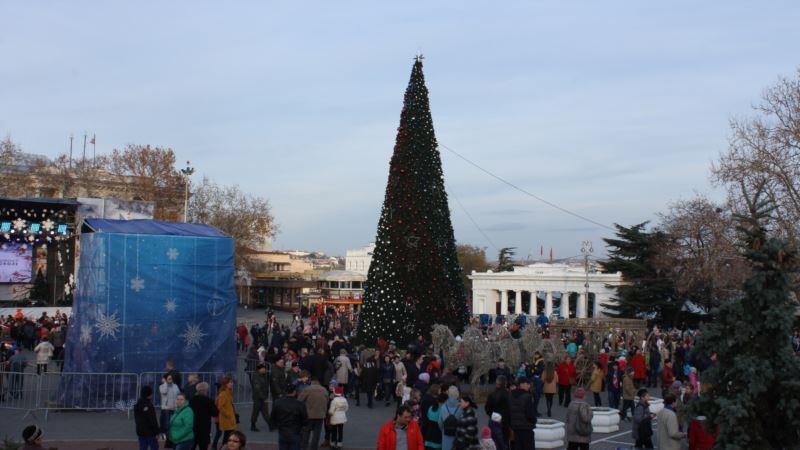 В Севастополе к Новому году появится аллея из гирлянд – власти
