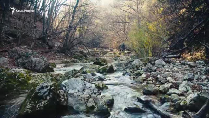 Красоты осеннего полуострова: Большой каньон Крыма (видео)