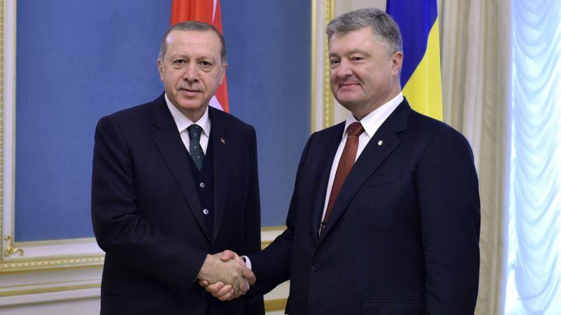 Киев просит Анкару усилить давление на Россию для освобождения украинских моряков в Крыму