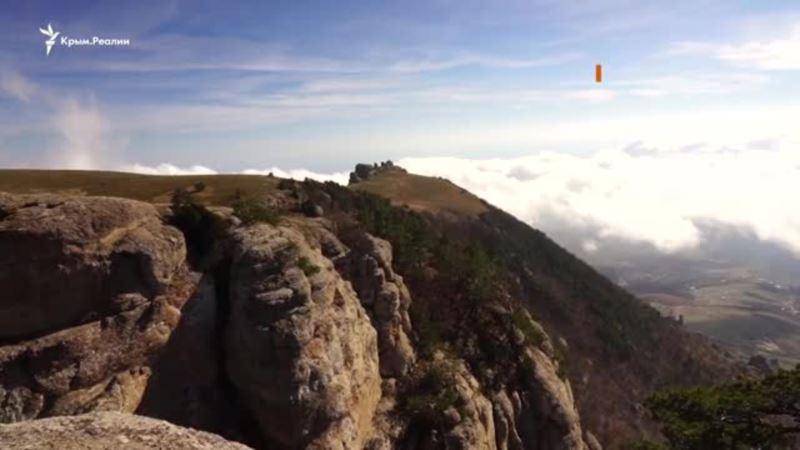 Крым: прогулка по плато Демерджи (видео)