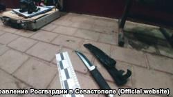 Росгвардия утверждает, что этим ножом житель Самары ранил своего знакомого