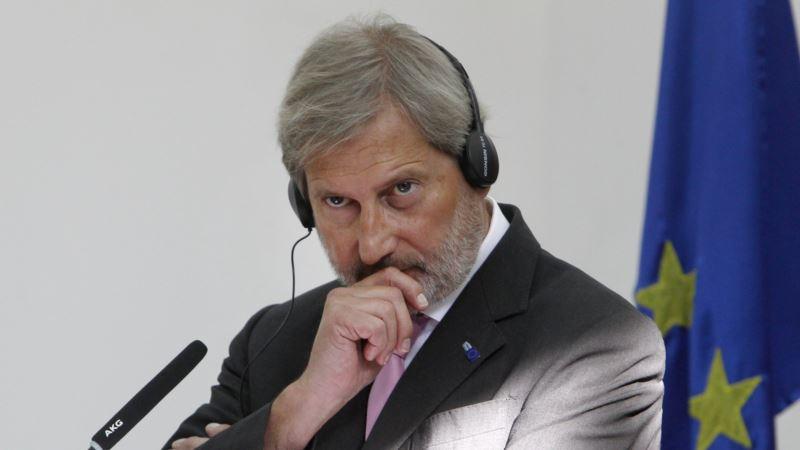 Еврокомиссар Хан рассказал об успехах и неудачах реформ в Украине