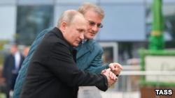 Президент России Владимир Путин в Крыму, 23 ноября 2018 года