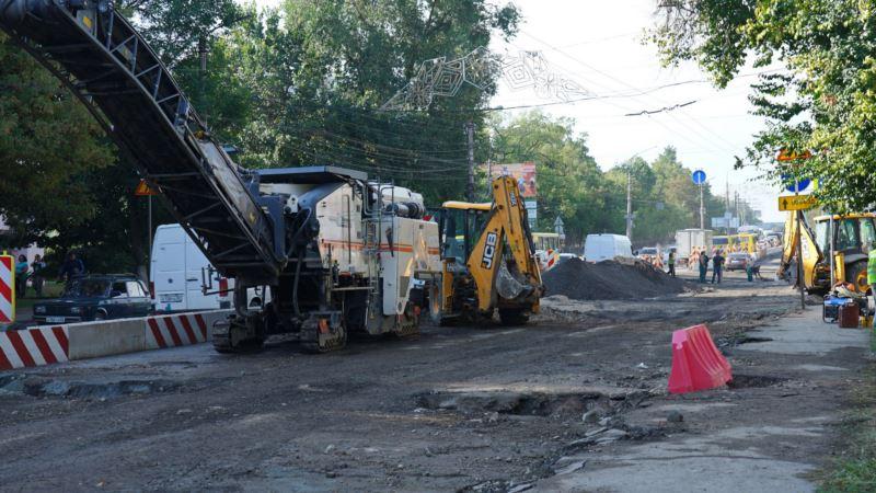 В Минтрансе Крыма отчитались о ремонте дорог за октябрь