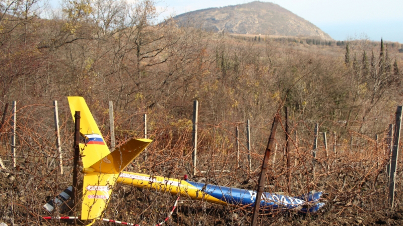 В России разбился вертолет, есть погибшие