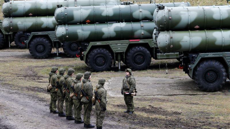 Российские военные провели учения по противовоздушной обороне в Крыму