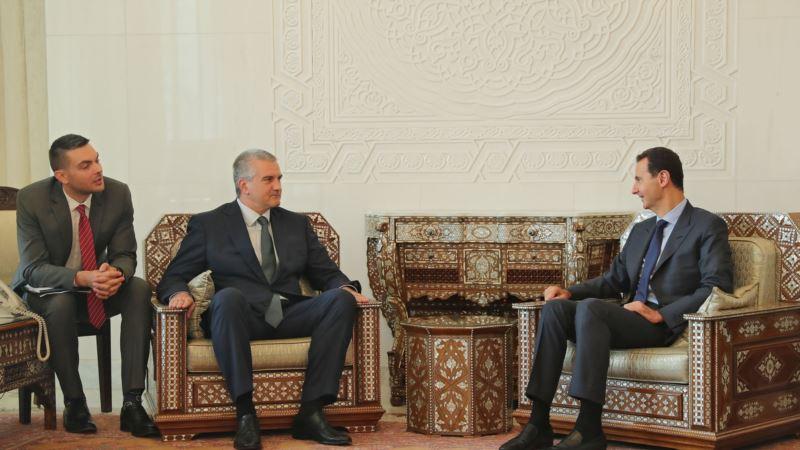 Аксенов хочет отправить захваченные буровые установки «Черноморнефтегаза» в Сирию