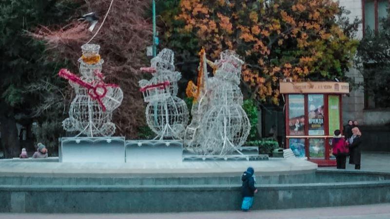 Власти Ялты не подготовили город к празднованию Нового года – активистка