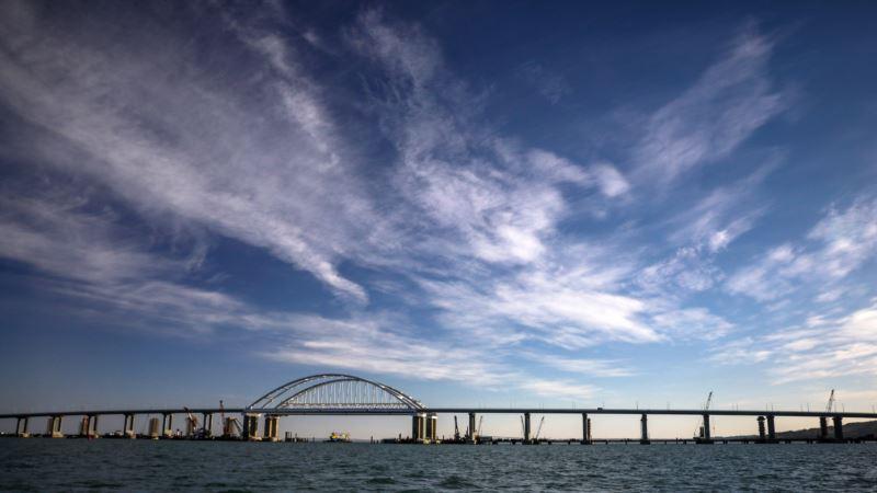 Смещение опор Керченского моста опасно для железнодорожного полотна – эксперт