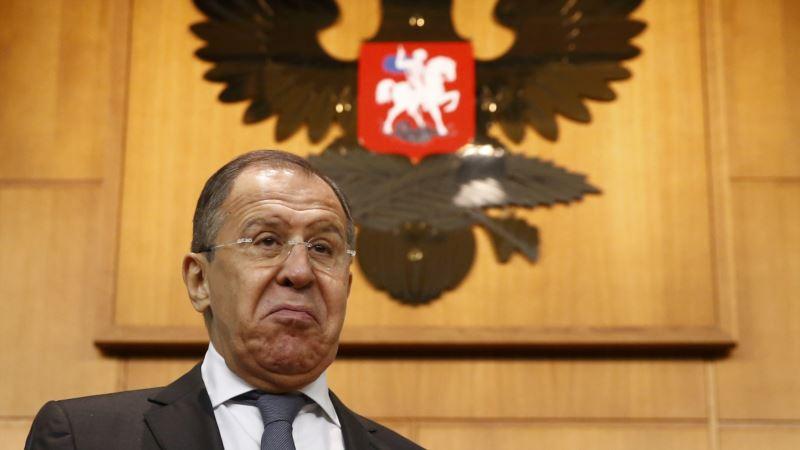 Лавров пригрозил Украине жестким ответом в случае «провокации» на админгранице с Крымом