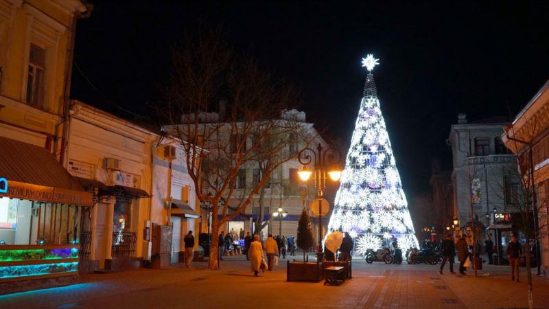 В Крыму в новогоднюю ночь синоптики прогнозируют до -3 градусов