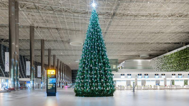 Аэропорт Симферополя не попал в российский рейтинг самых популярных новогодних направлений
