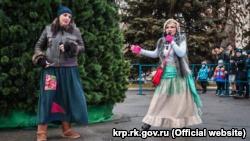 Открытие новогодней елки в Красноперекопске